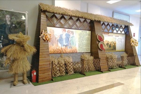 和谐广场·麦子熟了文化展