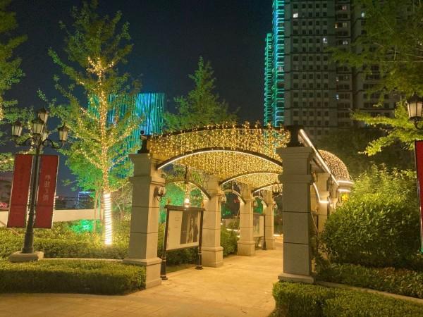 君道·外滩三号营销中心园林亮化氛围提升