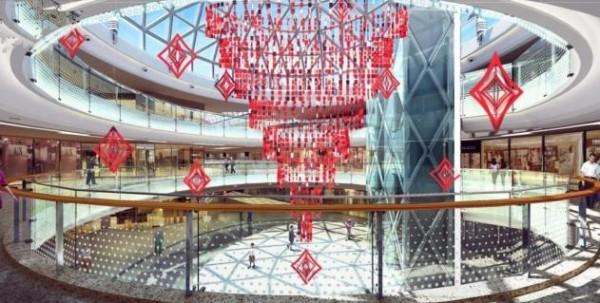 枣庄中庭吊饰